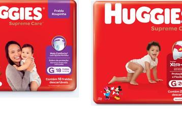 Huggies® anuncia linha de produtos inspirados em Mickey e Amigos