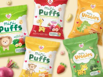 5 opções de snacks divertidos para crianças