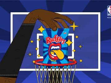 RUFFLES® anuncia acordo e passa a ser o snack oficial da NBA no Brasil