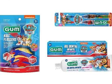 Gum reformula embalagens de produtos da linha Patrulha Canina