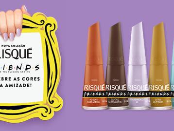 Risqué faz ação especial de lançamento da nova coleção inspirada em Friends em parceria com Rappi