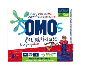 OMO lança embalagem especial para reforçar parceria com o 'Criança Esperança'
