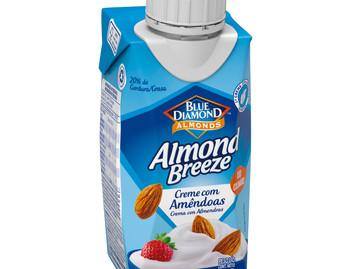 Almond Breeze™ amplia portfólio e lança o primeiro Creme com Amêndoas do Brasil
