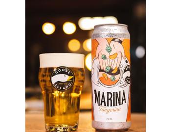 Goose Island lança Marina Tangerina, uma homenagem da