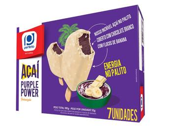 Perfetto disponibiliza Açaí Purple Power em embalagem Multipack