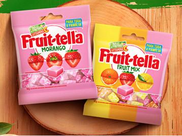 Fruittella lança formato para compartilhar da linha de balas mastigáveis
