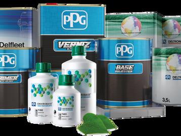 PPG apresenta novas embalagens para as linhas de repintura automotiva