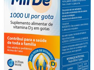 Laboratório Gross apresenta novo layout para as embalagens do Suplemento vitamínico Mildê Gotas