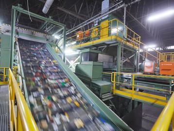 TOMRA e Borealis abrem fábrica para separação de resíduos