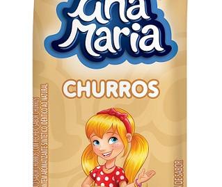 Em parceria com Leite Moça, Ana Maria lança bolinho sabor churros