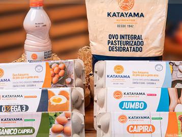 Katayama Alimentos repagina suas embalagens