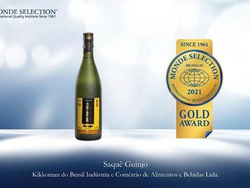 Guinjo Azuma Kirin é o único produto brasileiro a levar medalha de ouro no Monde Selection
