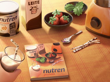 Receitas com mais Proteína: Nutren® Protein lança livro de receitas