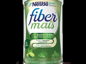 Suco verde é mais uma grande novidade da linha FiberMais
