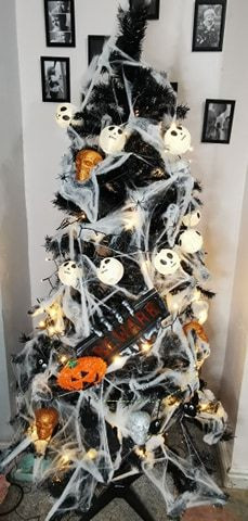 This is our very 1st Halloween tree for 2020!