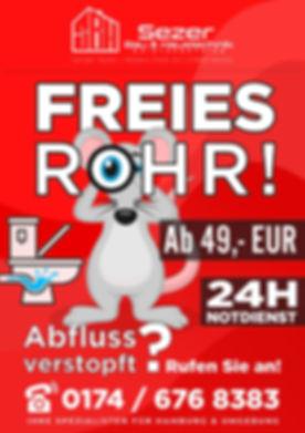 Rohrreinigung Hamburg Wedel
