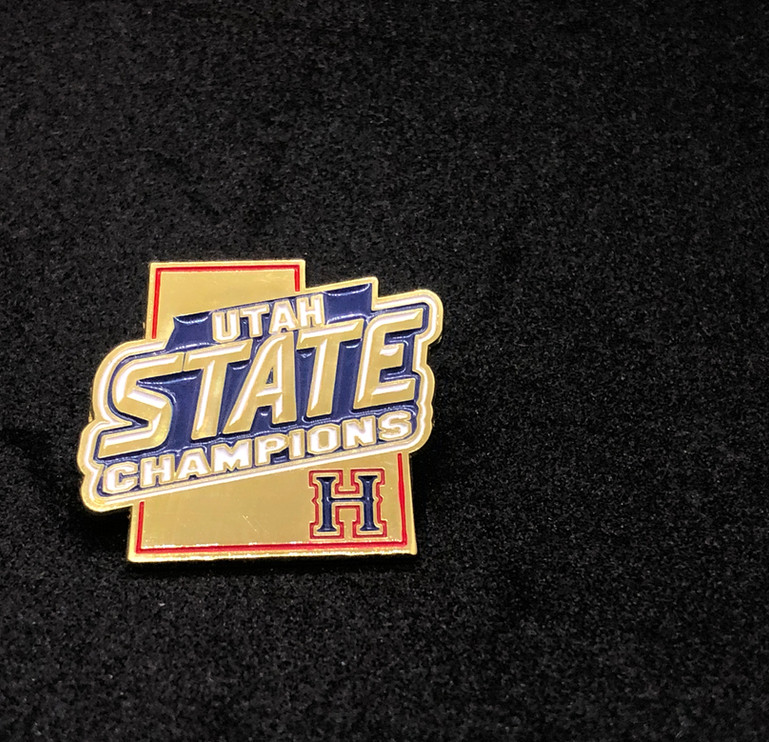 Herriman High school State champion Pin
