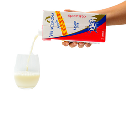 leche desnatadaa
