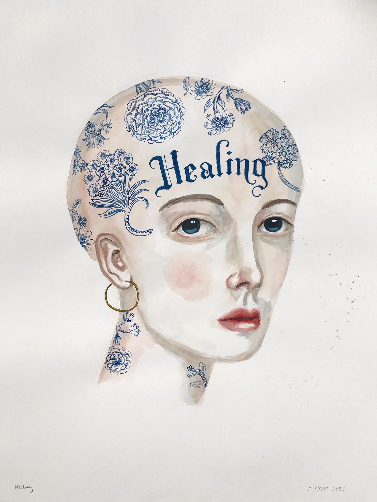 """Healing (29x23"""")"""