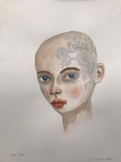 Blue Rose (18x12) [2020]