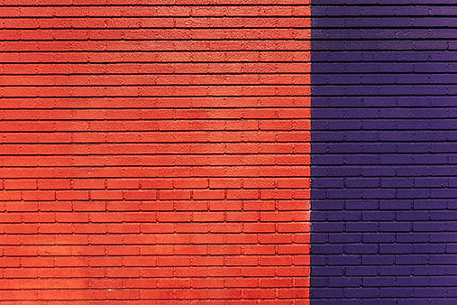 Colores Lovely Rouge en pared