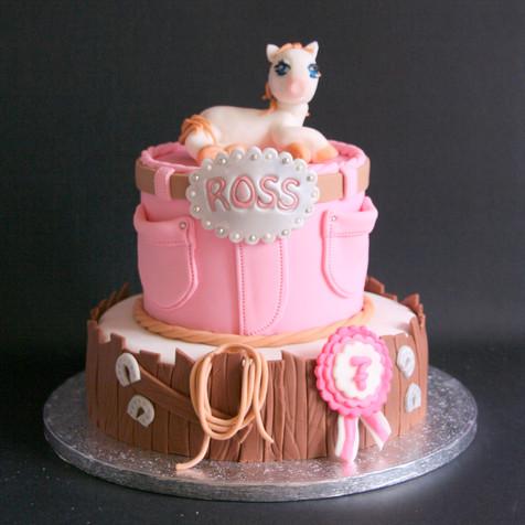 Sweet horse cake