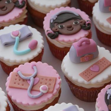 Doc McStuffins cupcakes
