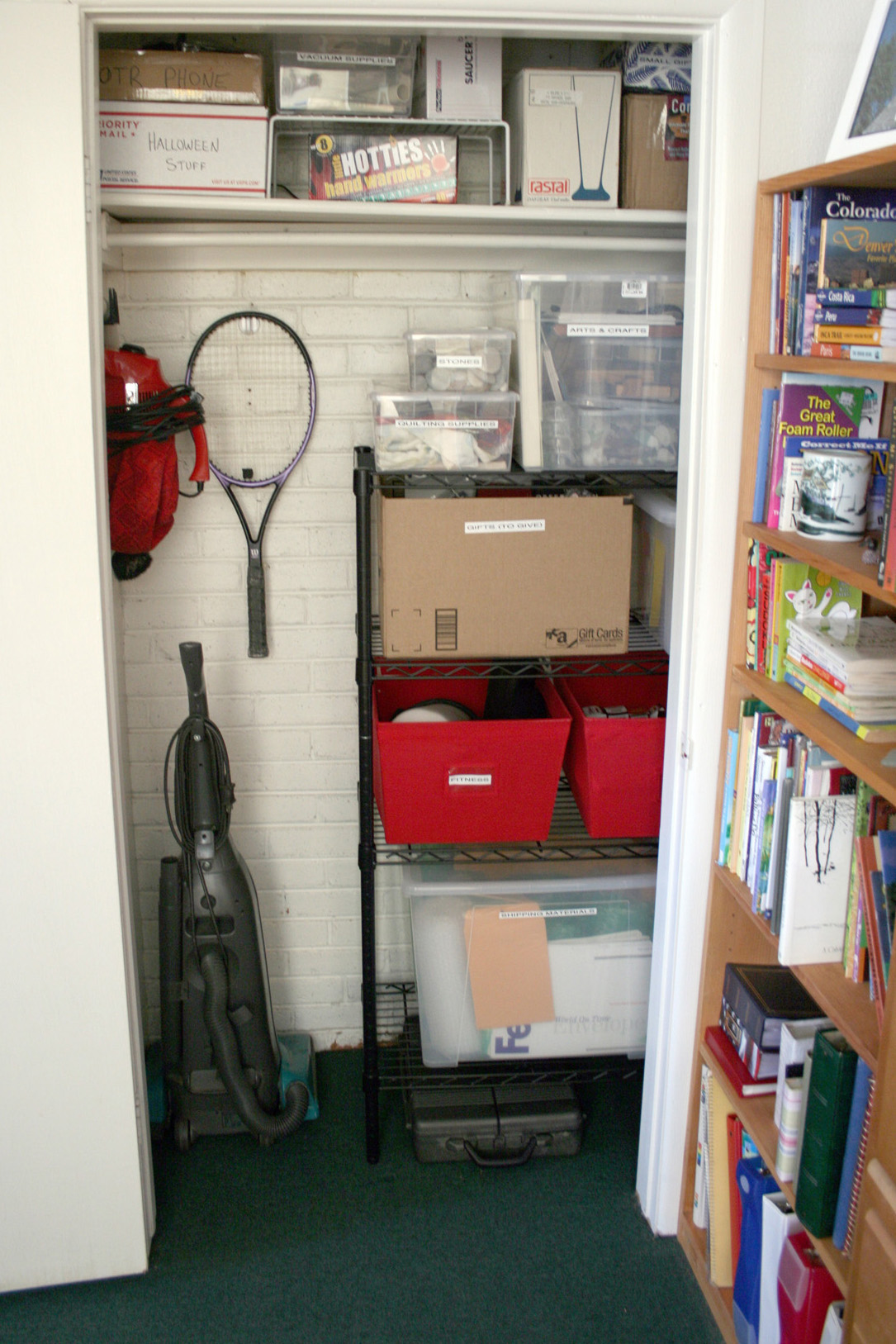 STORAGE CLOSET — AFTER