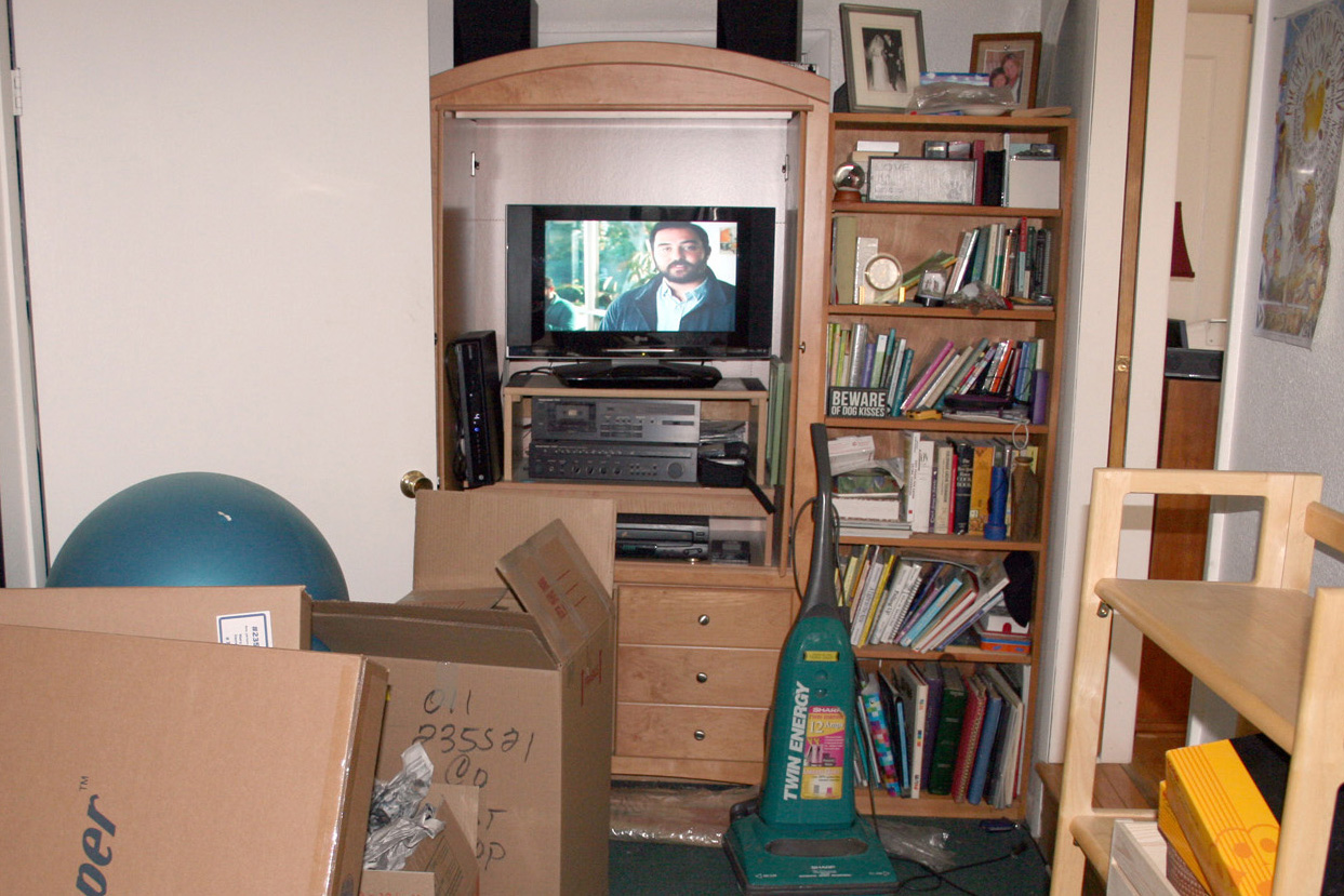 ENTERTAINMENT CENTER — BEFORE