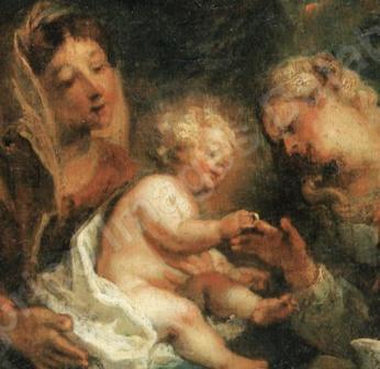Cat. 2008 P. 12 - Le Mariage mystique de Sainte Catherine