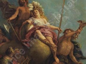 Cat. 2018 P. 6 - Minerve entourée de Mercure, Diane, Apollon et Vulcain