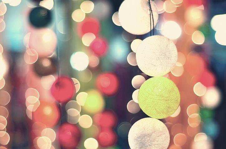 Vintage Light Balls