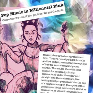 'Pop Music in Millennial Pink' The Female Gaze, 2018