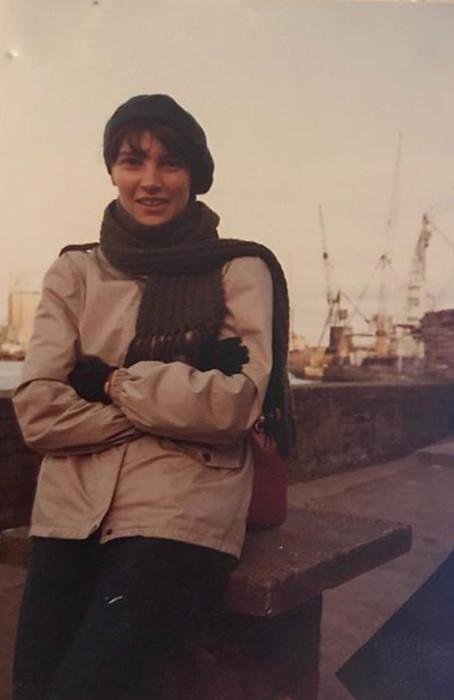 Mum in a beret