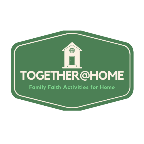 TOGETHER@HOME is an initiative to promote families doing and learning together at home: learning about Jesus, the Gospel, the Bible, prayer, God's love, shared traditions and special seasons of the church. All TOGETHER @HOME are hands-on andintergenerational.