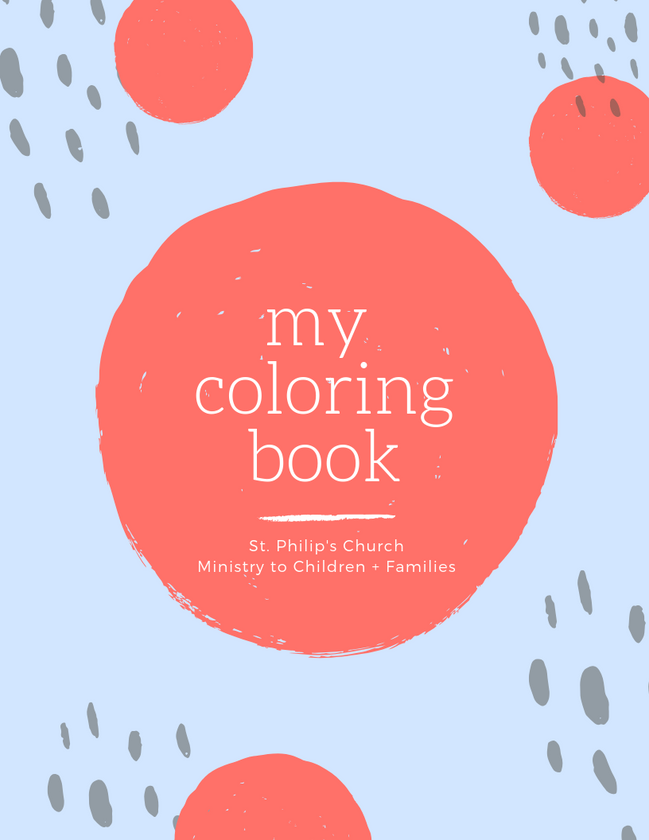 St. Philip's Children's Ministry Coloring Book