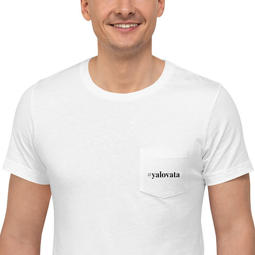 Unisex #yalovata pocket tshirt