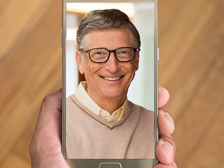 OK Fix , Bill Gates pilih pakai Android dibanding iPhone, apa alasannya?