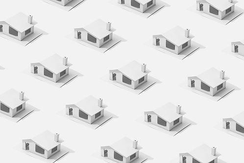 Saroktelken álló 2 szobás ház eladó