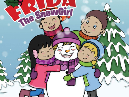 Frida the SnowGirl by Starr Lewis - a delightful children's book your kids will love!