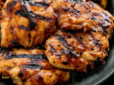 Grilled Chili Cilantro-Lime Chicken