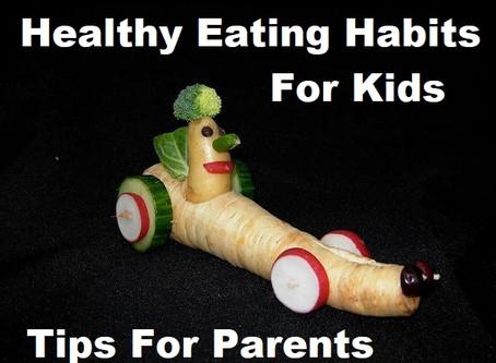 Children's 🥦Nutrition👨🍳 Tip: STICK TO THE ROUTINE