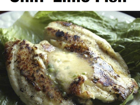 Chili Lime Fish To Spice Up Your Meal!