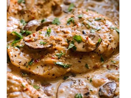 Tasty Chipotle Mushroom Chicken