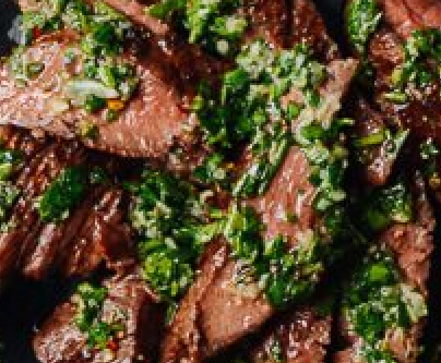 Chimichurri Grilled Argentine Steak