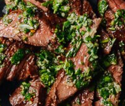 Chimichurri Grilled Argentine Steak