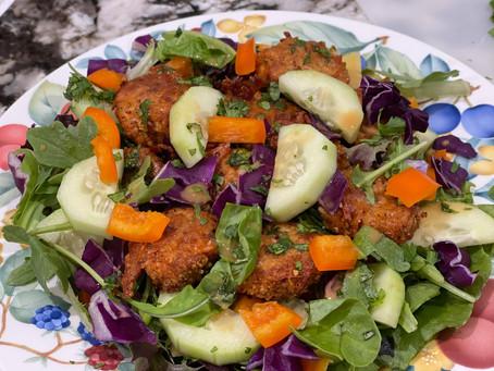 Baked Chicken Tender Salad