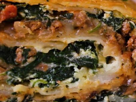 Scalloped Vegetable Roll