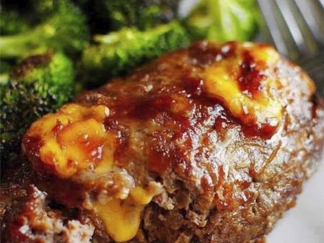 BBQ Cheddar Meatloaf: