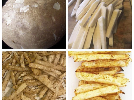 Crisp, Healthy, Super Fries